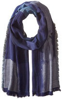 BCBGMAXAZRIA Color Block Party Scarf