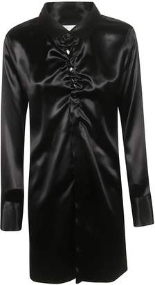 Bottega Veneta Mid-length Collar Long-sleeved Shirt