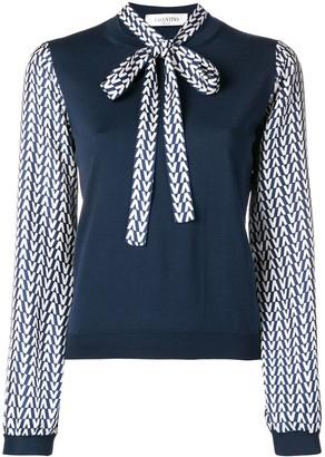 Valentino Optical V blouse
