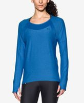 Under Armour Heathered Long-Sleeve Top
