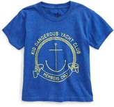 Kid Dangerous Yacht Club T-Shirt (Toddler Boys & Little Boys)