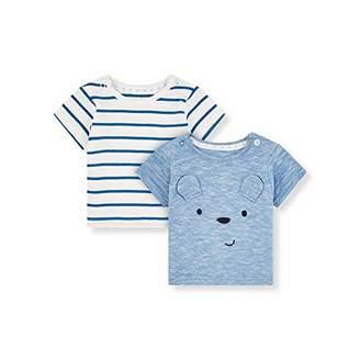 Mothercare Baby IO MFB 2PK SS Tshirts T-Shirt,(Size:68)
