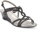 Bandolino Gilnora Embellished Wedge Sandals
