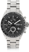 Fossil Decker Stainless Steel Chronograph Watch