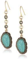 Barse Kismet Turquoise Drop Earrings