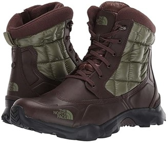 The North Face ThermoBall Boot Zipper (Demitasse Brown/Four Leaf Clover) Men's Boots