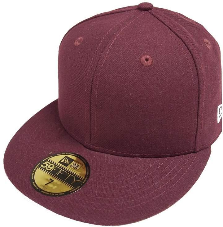 970ede2c9b774d New Era Mens MLB Basic NY Yankees 59fifty Fitted Cap Scarlet Fan Shop