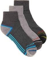 K. Bell Men's Hiker Quarter Men's Ankle Socks - 3 Pack
