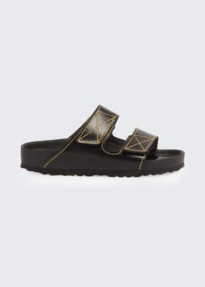 Birkenstock x Proenza Schouler Arizona Double Grip-Strap Slide Sandals