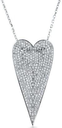 Cosanuova Long Heart Necklace