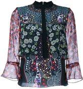 Mary Katrantzou 'Milana' silk shirt