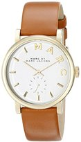 Marc by Marc Jacobs Women's MBM1316 Analog Display Quartz Brown Watch