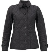 Burberry Diamond-quilted Shell Jacket - Womens - Black