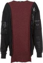 Yang Li reconstructed sweatshirt