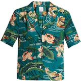 Stella Jean Liberale waterlily-print silk shirt