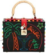 Dolce & Gabbana Dolce Box Sicilia Light Up Plexi Bag