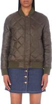 Closed Shire reversible shell bomber jacket