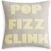 Alexandra Ferguson Pop Fizz Clink Decorative Pillow, 16 x 16