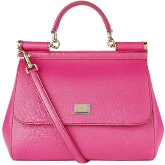 Dolce & Gabbana Medium Sicily Top Handle Bag
