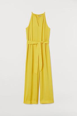 H&M Sleeveless Jumpsuit - Yellow
