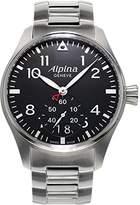 Alpina Men's AL280B4S6B Analog Display Swiss Quartz Silver Watch