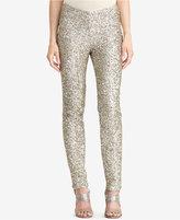 Lauren Ralph Lauren Sequined Skinny Pants