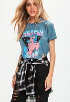 Missguided My Little Pony Distressed Cropped T-Shirt