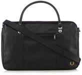 Fred Perry Black Grained Holdall Bag