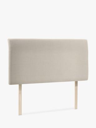 John Lewis & Partners Bedford Upholstered Headboard, King Size, Canvas Pebble