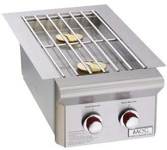 American Outdoor Grill T Series Double Drop-In Side Burner American Outdoor Grill