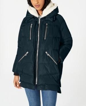 Halifax Oversized Hooded Fleece-Lined Puffer Coat