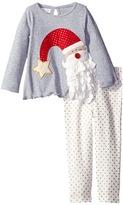 Mud Pie Santa Tunic & Leggings Set (Infant)