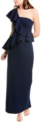 Trina Turk Waterfall Gown