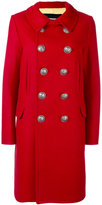 DSQUARED2 double breasted coat - women - Polyamide/Polyester/Virgin Wool - 40