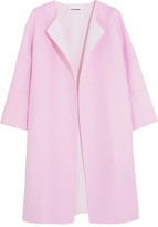 Jil Sander Two-tone Cashmere Coat - FR36