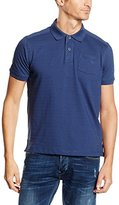 Lerros Men's Polo Shirt Blue Blau (Vintage Blue 474)