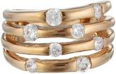 GUESS 4 Band Stone Ring Ring