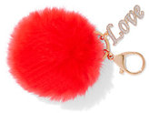 "New York & Co. Pom-Pom ""Love"" Keychain"