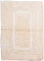 "Martha Stewart CLOSEOUT! Collection Plush Squares Cotton 20"" x 32"" Bath Rug"