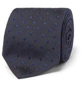 Alexander McQueen 6cm Polka-Dot Silk-Jacquard Tie