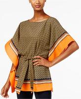 MICHAEL Michael Kors Printed Kimono Top