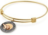 Alex and Ani LIBERTY COPPER | CARRY LIGHTTM 14kt Gold Center Charm Bangle, Medium