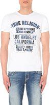 True Religion Logo-print Cotton T-shirt