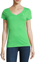 U.S. Polo Assn. V Neck Shirt-Juniors