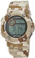 Diadora Men's Watch Digital Quartz Plastic di 017 03