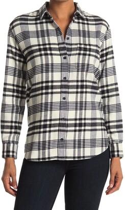 Madewell Plaid Ex-Boyfriend Button Up Shirt