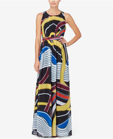 Catherine Malandrino Laguna Printed Maxi Dress