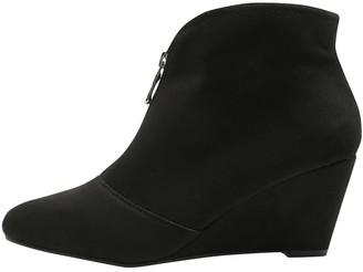 M&Co Amelia front zip wedge boot