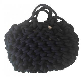 Alienina Blue Cotton Handbags