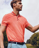 Ted Baker Large spot print polo shirt